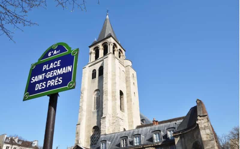 saint germain des pres paris