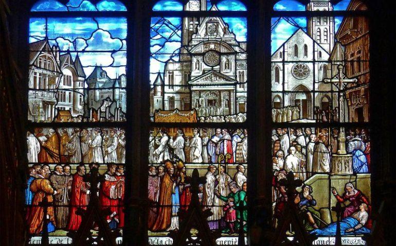vitraux St Etienne du mont