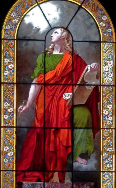vitrail St Jean eglise Ste Elisabeth de Hongrie