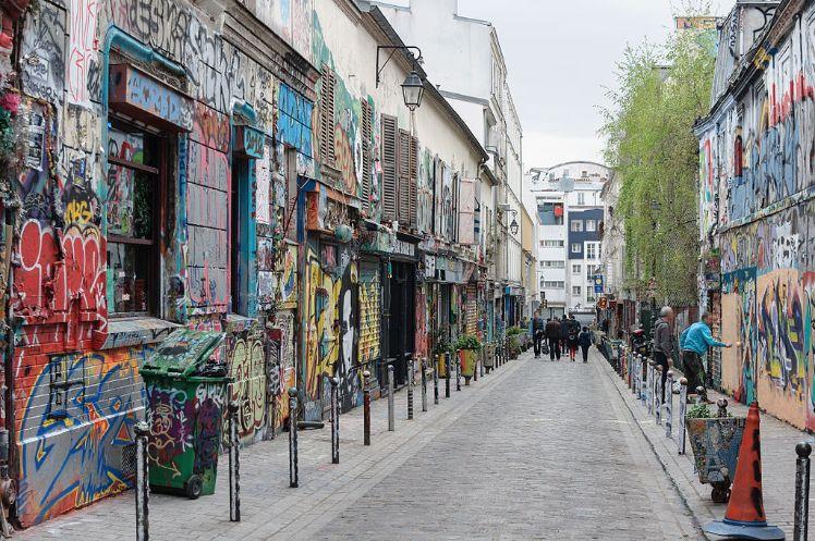 Rue Denoyez Paris Belleville