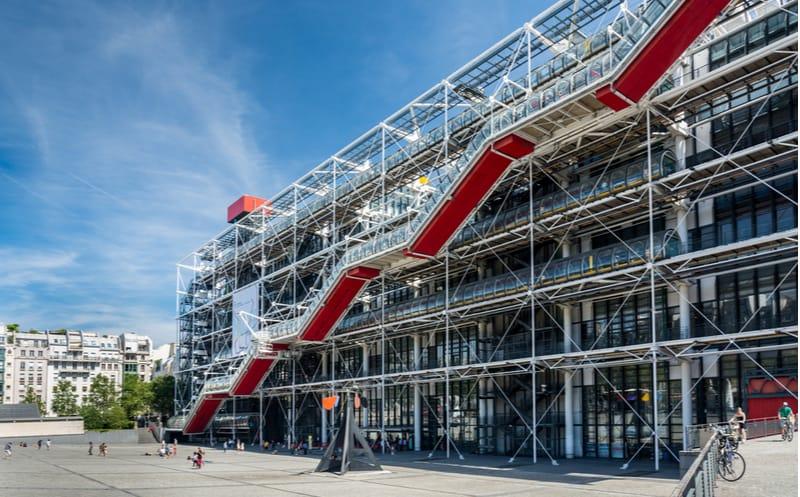 centre pompidou travaux