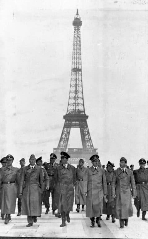 hitler tour eiffel 1940
