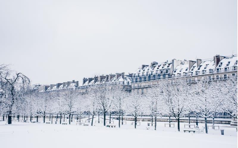 Paris : de la neige prévue ce week-end