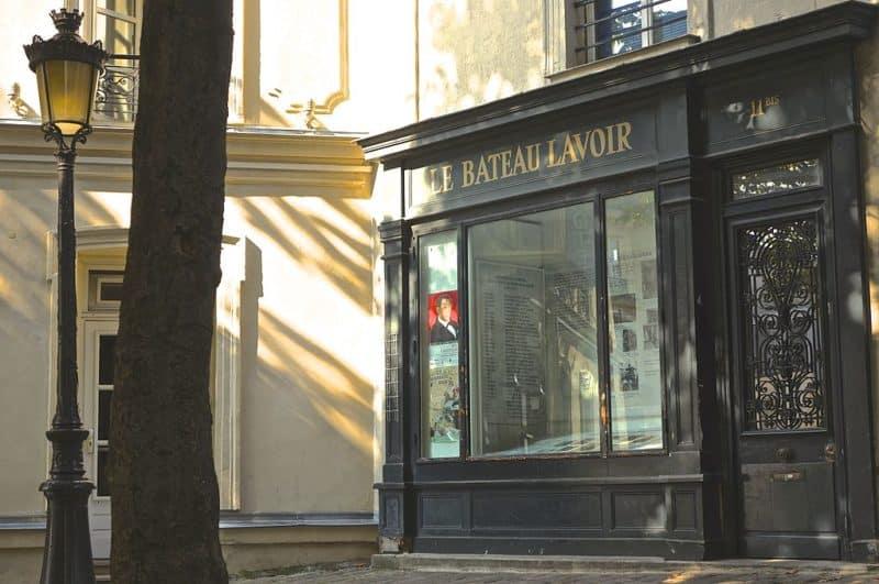Bateau lavoir Montmartre