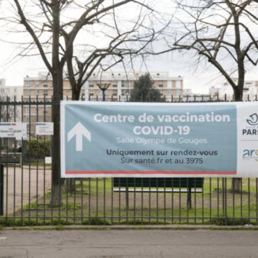 Centre de vaccination Covid Paris