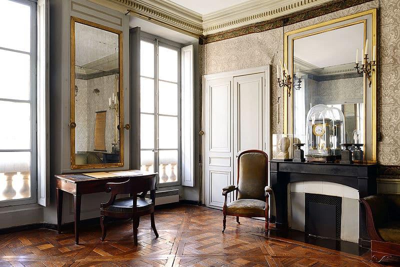 Le cabinet de travail d'Auguste Comte