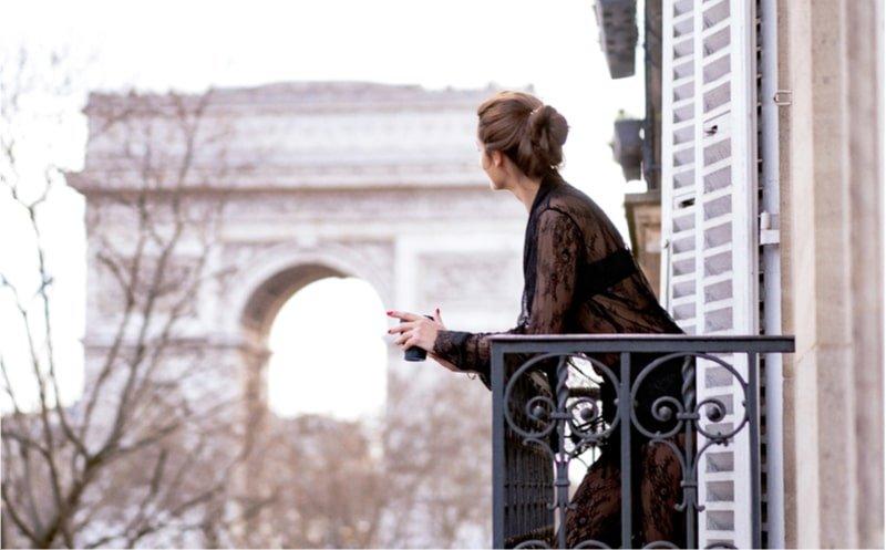 balcon paris arc triomphe