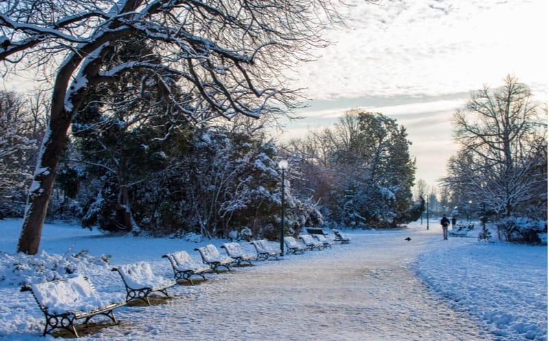 Paris : la neige revient (encore) la semaine prochaine