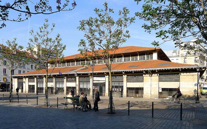 marché beauvau Place Aligre