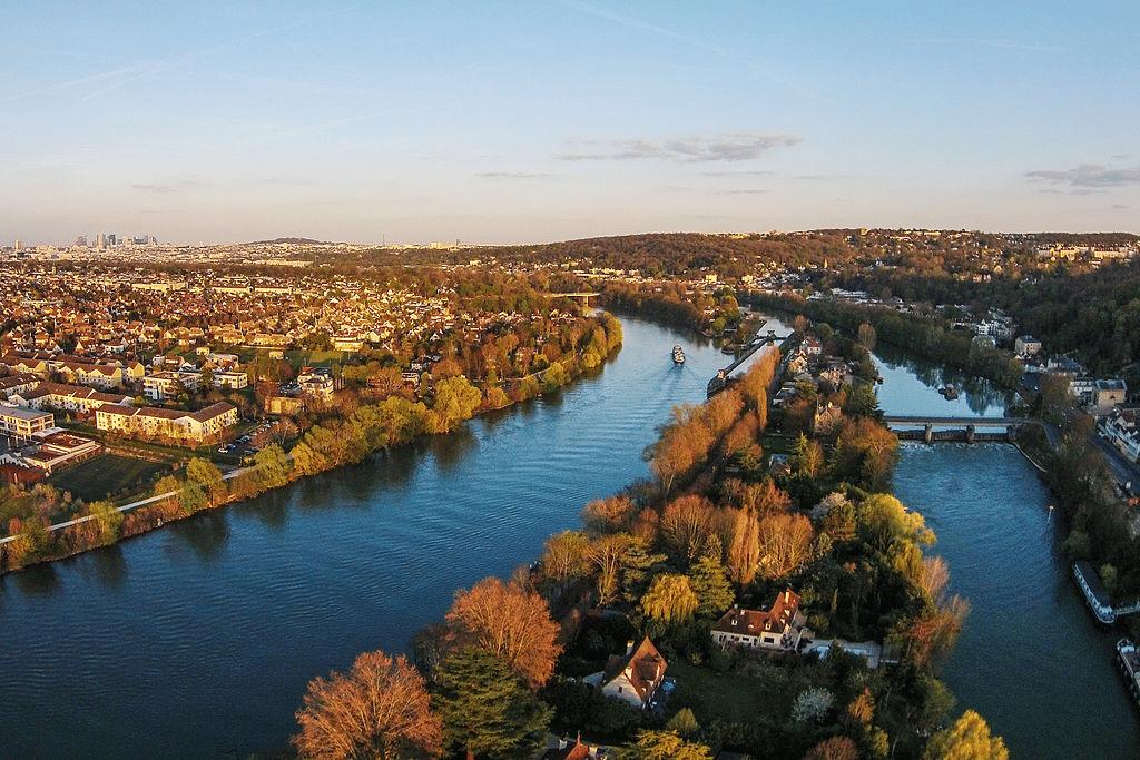 Ile de la Loge, Bougival, Bassin parisien