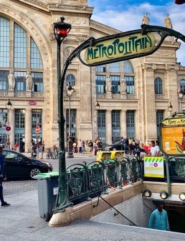 Station Gare du Nord, Paris