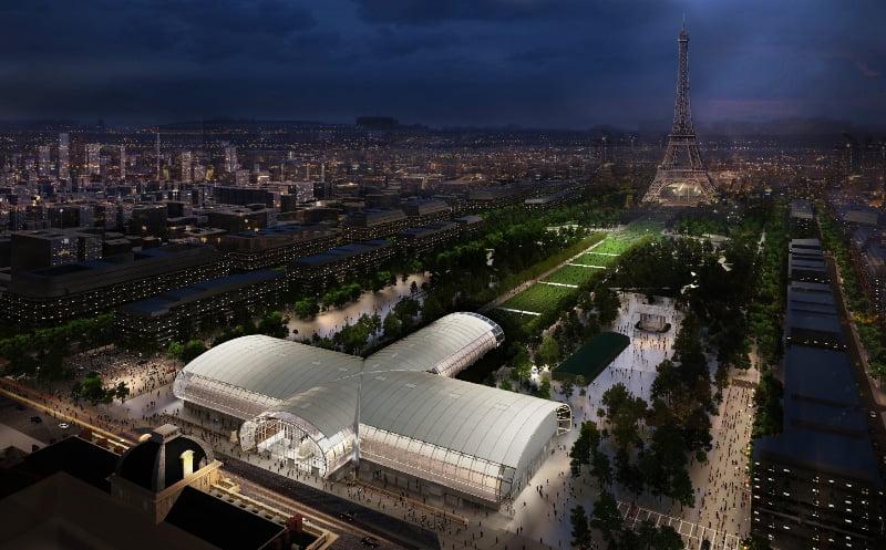 Grand Palais Éphémère - Wilmotte & Associés Architectes