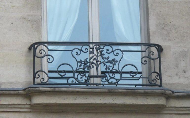 Balcon orme St Gervais