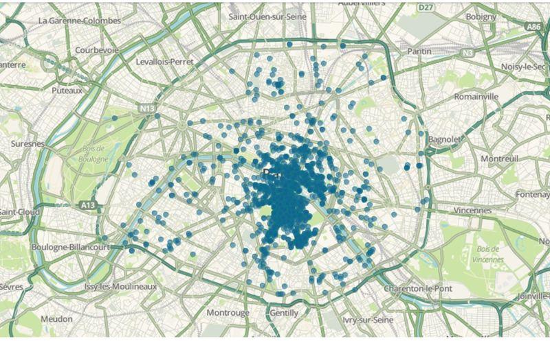 Carte archéologique de Paris
