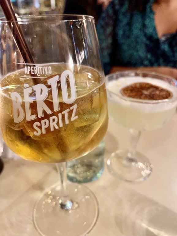 pepita cocktail bd saint germain