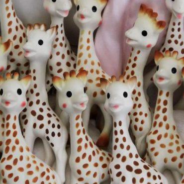 sophie la girafe Valérie Macon AFP