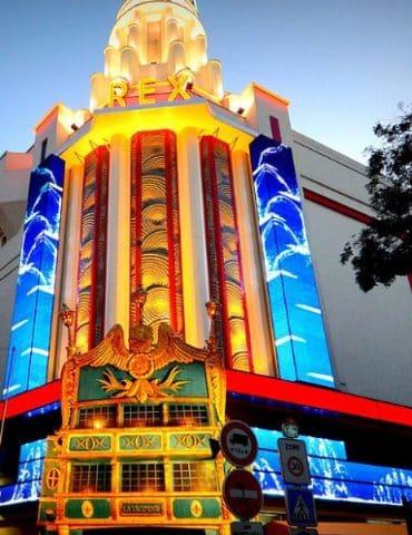 La façade du Grand Rex