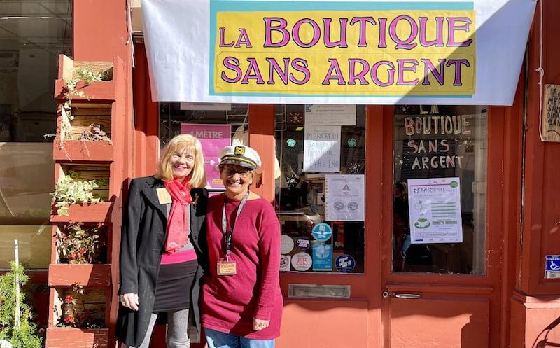 PORTRAIT : Mireille et Samia font vivre la Boutique Sans Argent