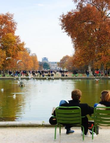 tuileries automne
